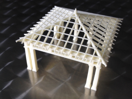 Architectural prototype model, pavilion