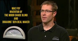 Invention 3D printing - Moon Shades no dragons den