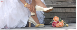 interchangeable heels bridal shoes