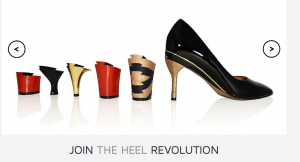 interchangeable shoe heels 3d printing