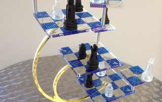Star Trek 3D Chess set with 3D Printed pieces